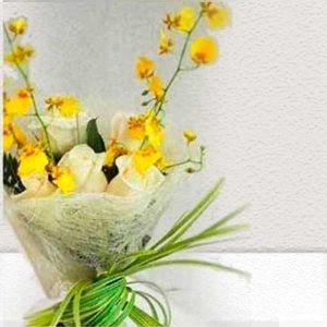 Ramo Bouquet para Novia el Dorado