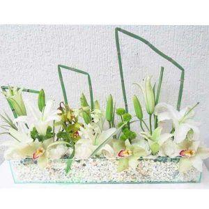 Arreglo Floral con Orquídeas y Chirosas Sidney