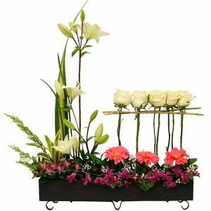Arreglo Floral para Aniversario San Lorenzo